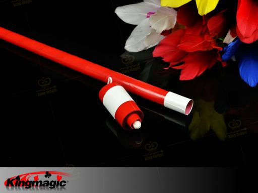 Korea Plastic Appearing Cane (Red)