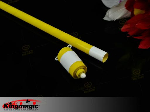Korea Plastic Appearing Cane (Yellow)