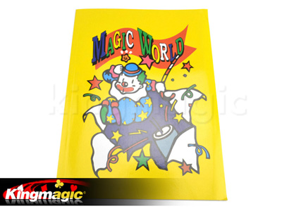 Coloring cartoon book magic