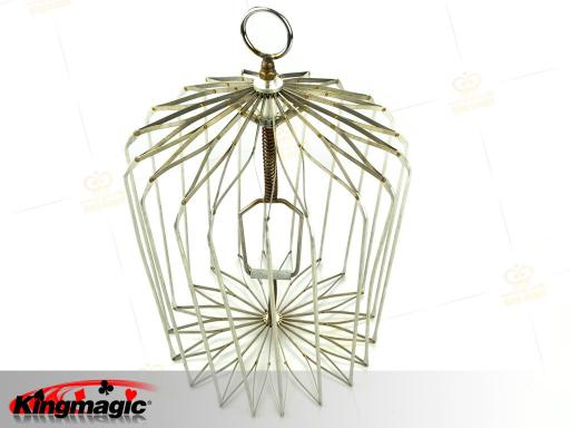 Appearing Bird Cage Small (Silver)