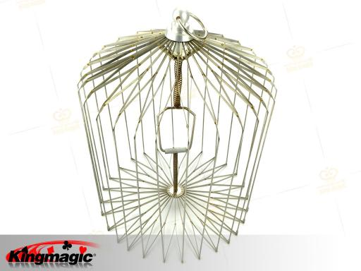 Appearing Bird Cage Large (silver)