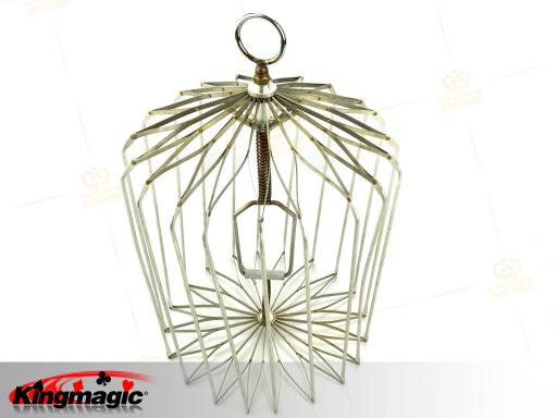 Appearing Bird Cage Medium (silver)