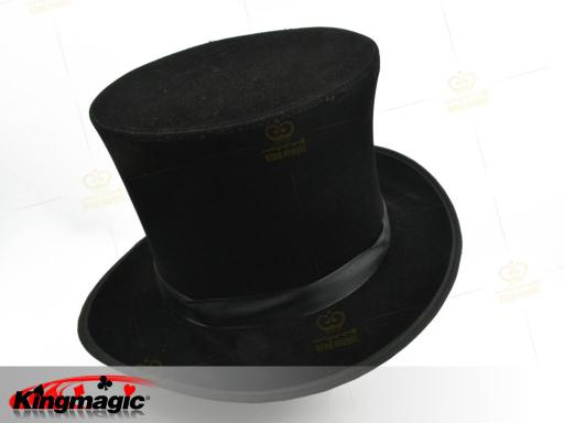 Folding Top Hat - black