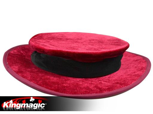 Folding Top Hat - Red