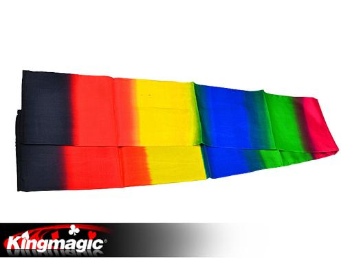 Black to Rainbow Scarf