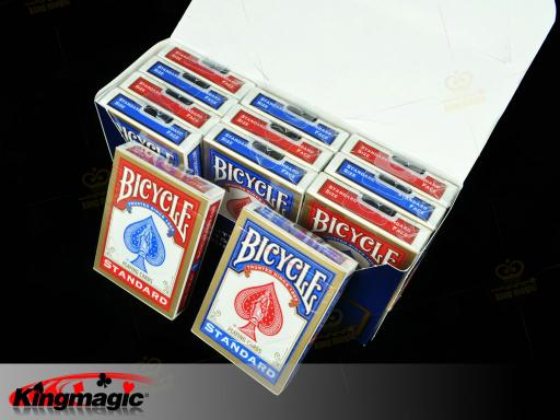 Bicycle 808 Playing Cards (Gold Red)