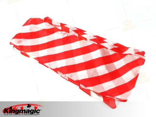 Red White Long Silk (16*500cm)
