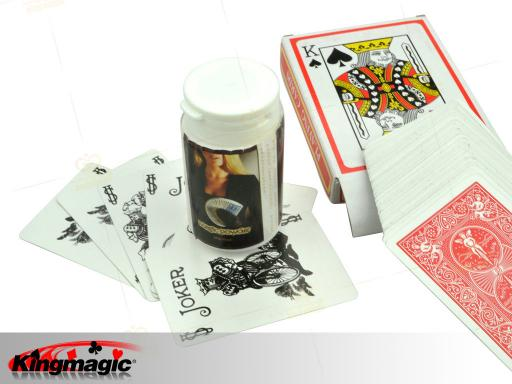 Card Fanning Powder