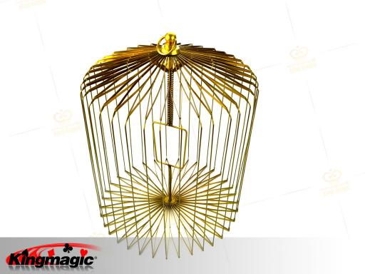 Appearing Bird Cage Small (Gold)