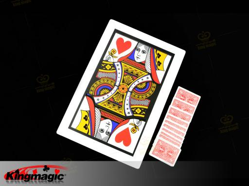 Three Card Monte (Q,K) 45*30CM -