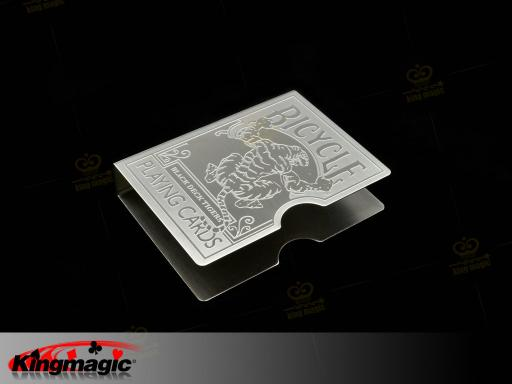 Steel Tiger Card Protector (Carving)