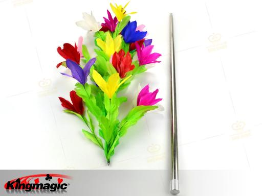 Vanishing Cane To Bouquet ( Metal ) - Click Image to Close