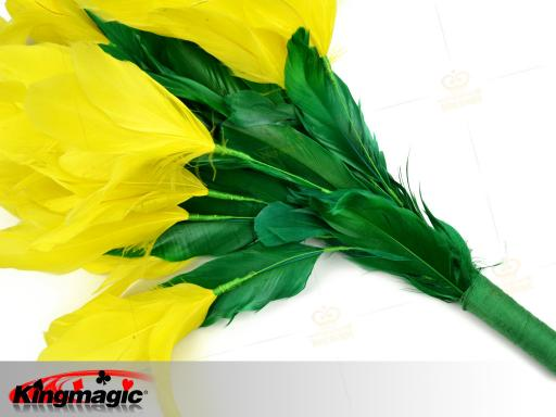 Feather Flower from Sleeve