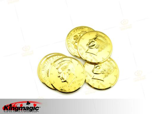 Gold Big Coin (Half Dollar)