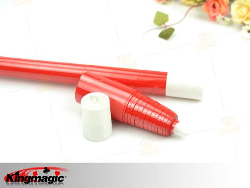 Plastic Vanishing Cane (Bright Red)