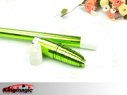 Plastic Vanishing Cane (Bright Green)
