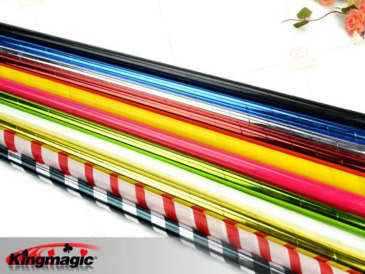 Plastic Vanishing Cane (Black White)