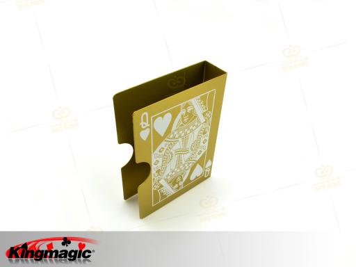 Steel Bicycle Card Protector (Glod)