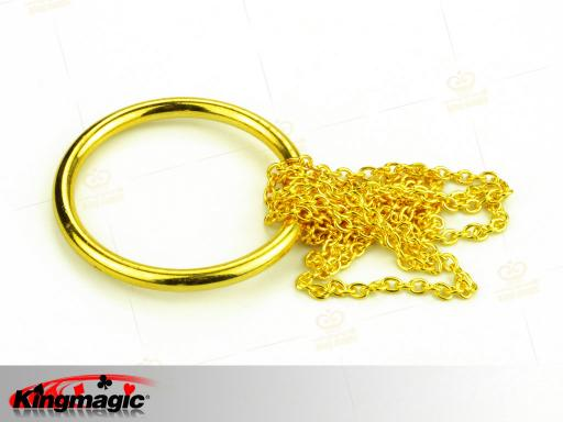 Chain and Ring (Gold)