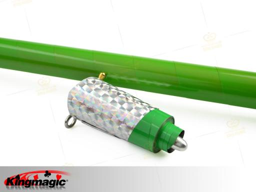 Mahka Appearing Cane (Green) Metal