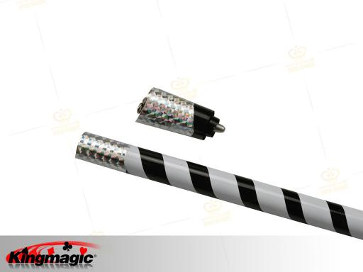 Mahka Appearing Cane (Black White) Metal
