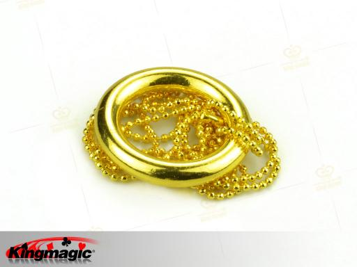 Deluxe Iron Chain and Ring (Gold)
