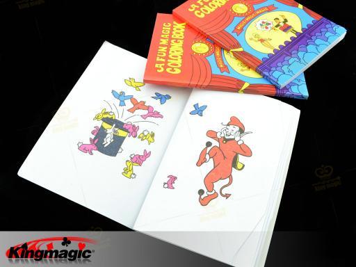 Fun Magic Coloring Book Magic Tricks Best For Children Stage Magic Toy WB