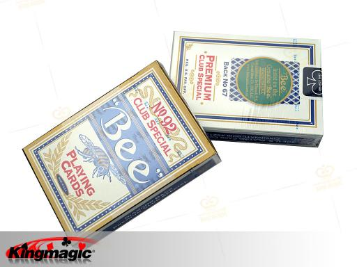 No.92 Bee Playing Cards (Blue)