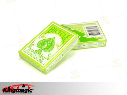 Bicycle Pastel Green Playing Cards
