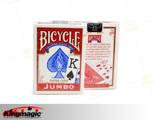 Bicycle Lo Vision Playing Cards (Red)