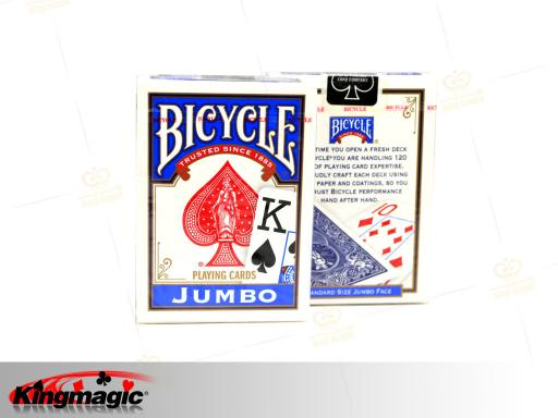 Bicycle Lo Vision Playing Cards (Blue)