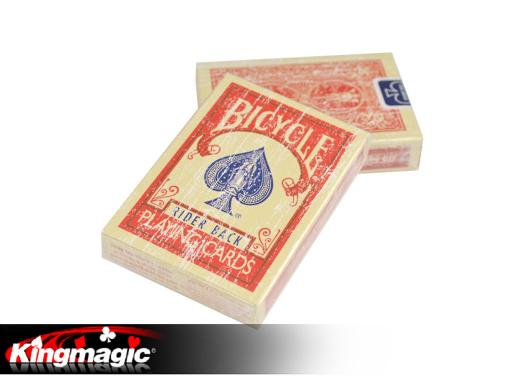 MagicMakers Bicycle Faded Deck (Red)
