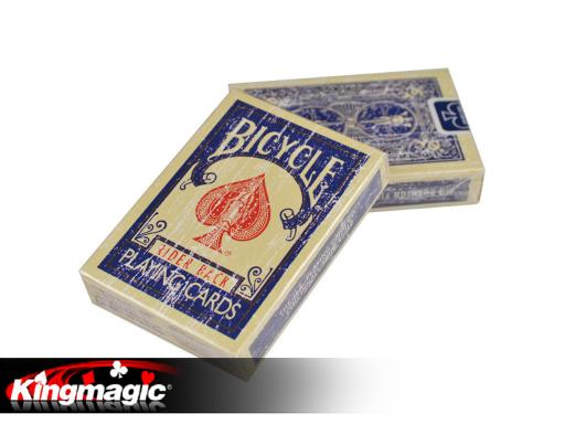 MagicMakers Bicycle Faded Deck (Blue)