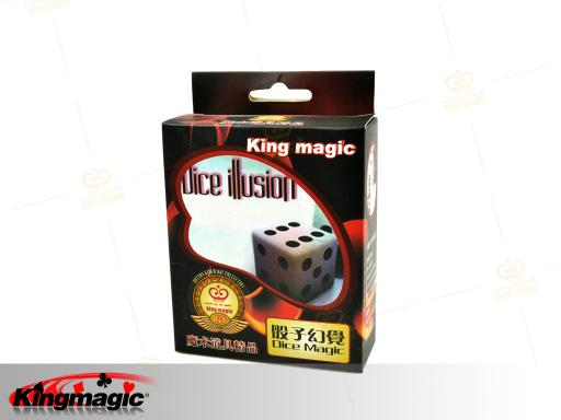 Dice Illusion Amazing Magic Mirror And Dice