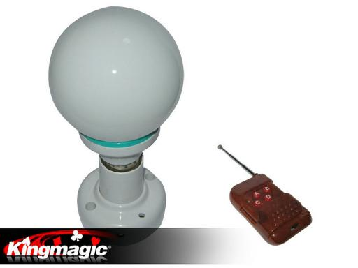 Color-Changing Light Bulb - Magnet Control
