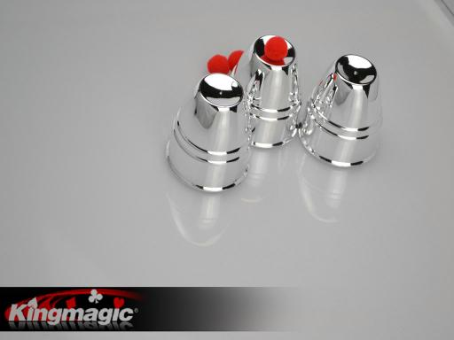Best Magic Cups and Balls (Silver)