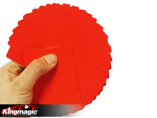 Fanning and Manipulation Cards (Red)