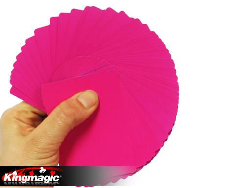 Fanning and Manipulation Cards (Pink)