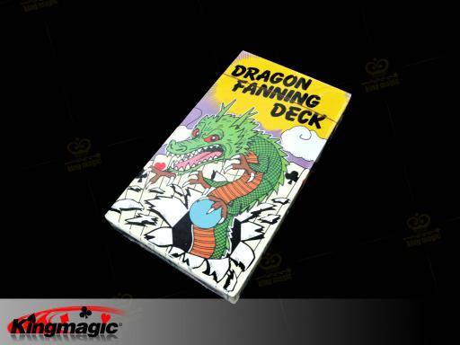 Dragon Fanning Deck (4 Color) NEW