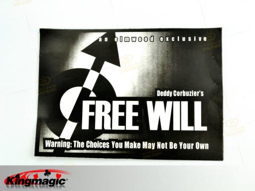 Free Will - magic trick mentalism - Click Image to Close