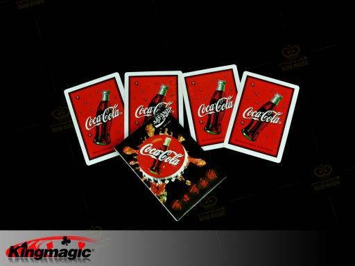 Coca Cola Card Set magic