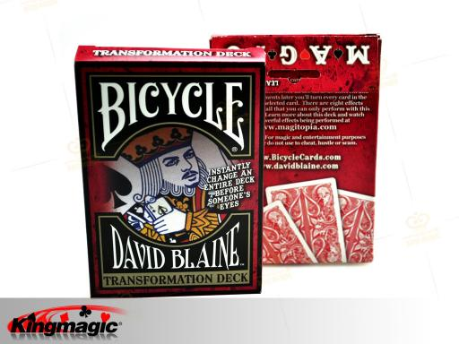 Bicycle SPLIT SPADES (Red Transformation Deck)