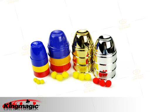 Best Magic Cups and Balls (Gold) - Click Image to Close