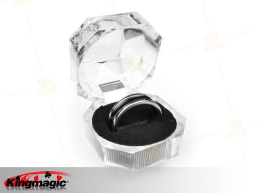 PK Ring Dual Black Line 19mm (Medium)