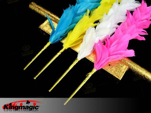 Feather Flower Duster Color Changing - Click Image to Close
