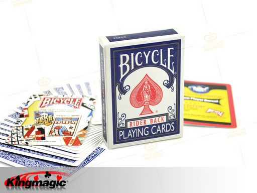 Empty Bicycle Card Box - Click Image to Close