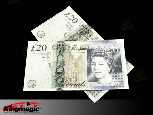 Bill Flash Paper Of British Pound - Set 10 - Click Image to Close