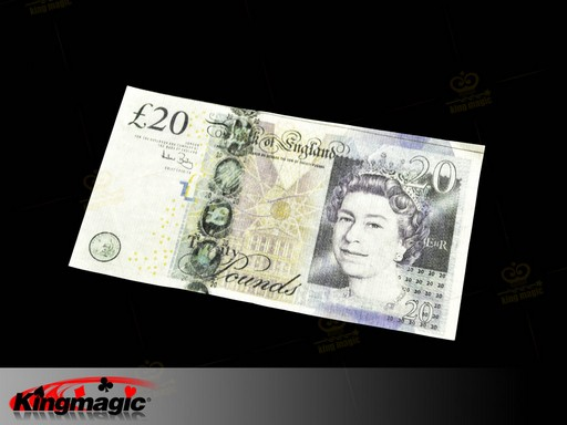 Bill Flash Paper Of British Pound - Set 10