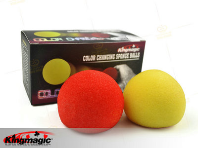 Colour Changing Sponge Balls