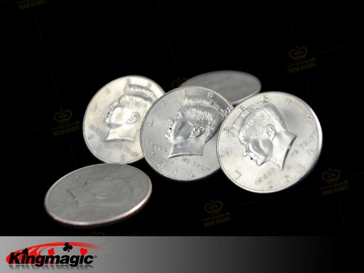 Water Sqirted Coin - Squirting Half Dollar